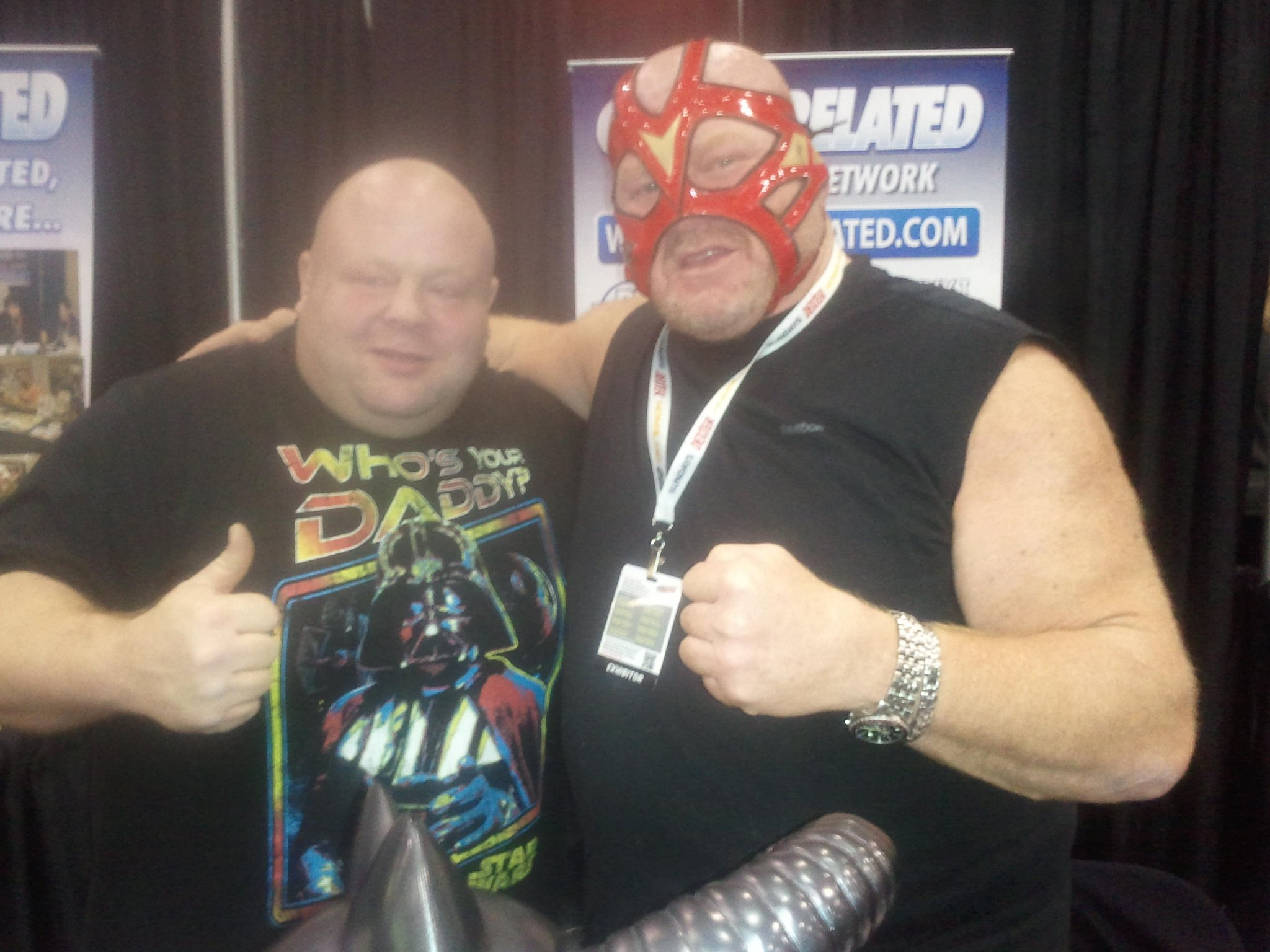 Big Van Vader On Twitter Quot 6ft Tall And 400lbs Butter
