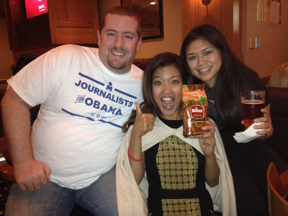RT @michellemalkin: Last tweet of the nite #njdream12 - awesome @racheljurado & @collegepolitico bought me WaWa pumpkin spice coffee ...
