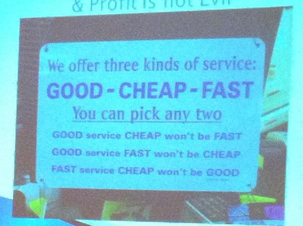 Service options #iss2012 pic.twitter.com/nNiaLz83