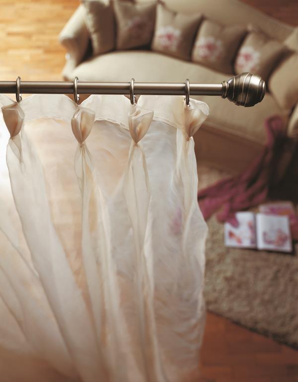 M s de 1000 ideas sobre cortinas rusticas en pinterest - Barras de forja para cortinas ...