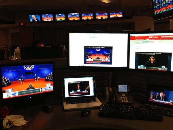 My view of the #CNNDebate.  Watch on CNN TV, http://CNN.com, or CNN mobile apps. http://pic.twitter.com/hXZLTwys