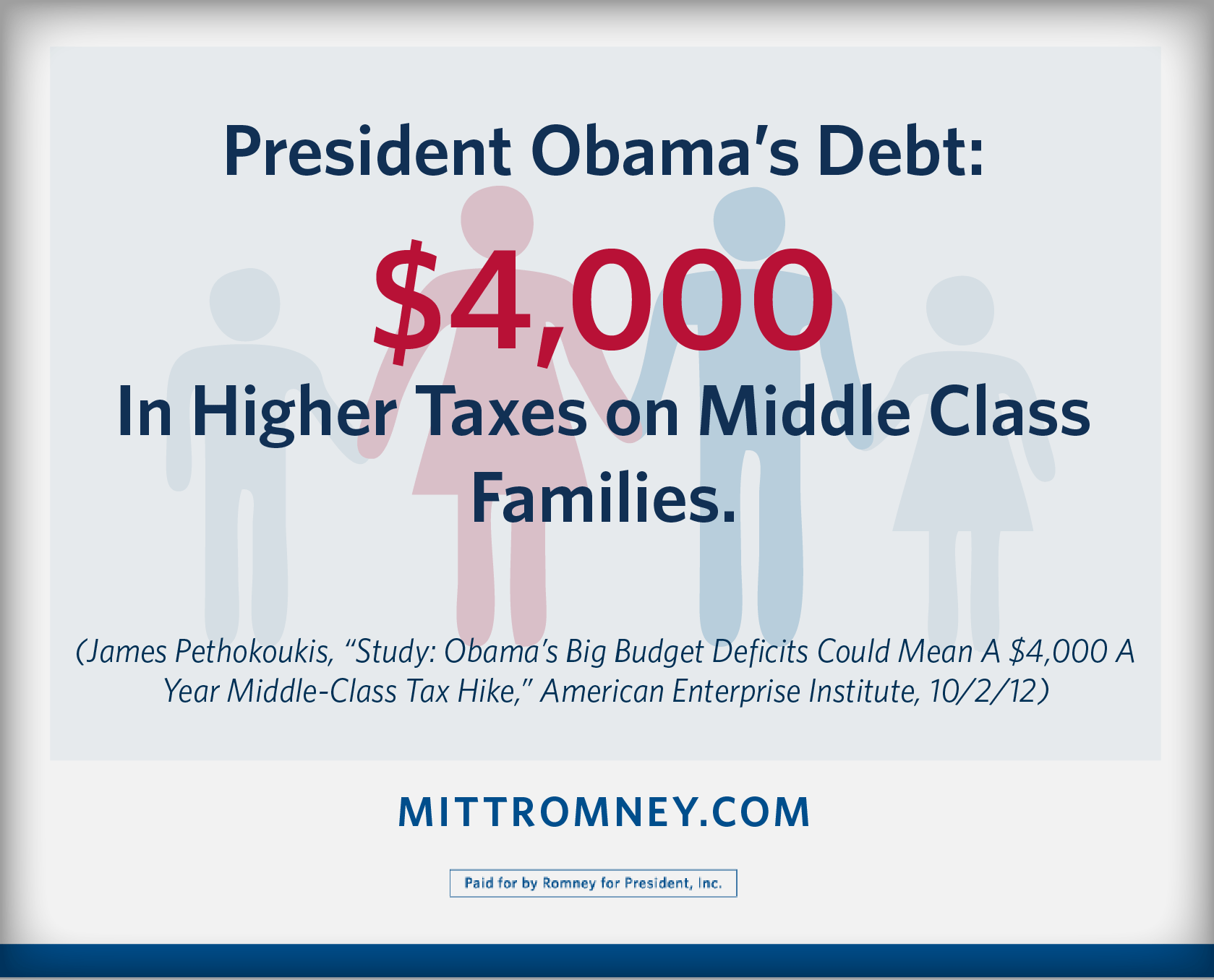 Twitter / MittRomney: The choice is clear for the ...