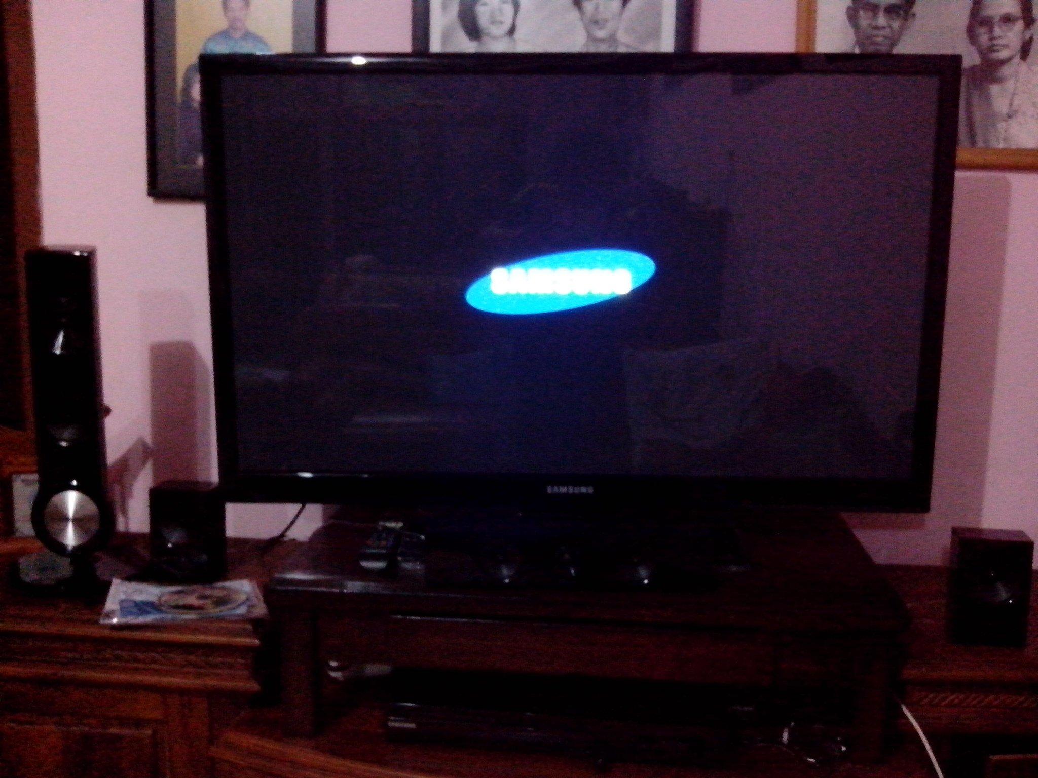 "wts samsung plasma tv 43"" [bandung]"