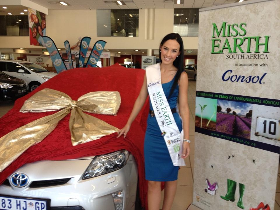 TAMERIN JARDINE - miss south africa 2012
