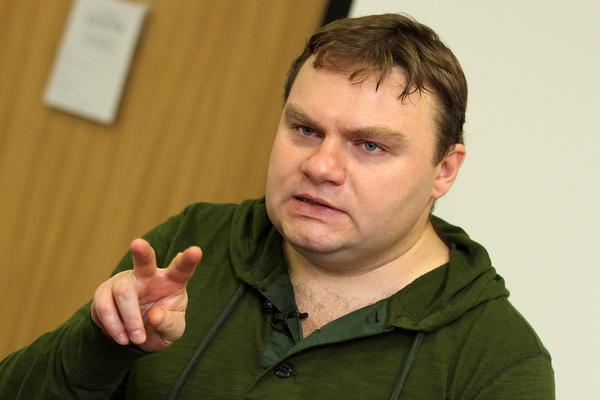 Александр Плющев в Екатеринбурге