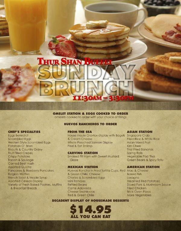 sandia casino on twitter stop by our amazing sunday brunch buffet rh twitter com