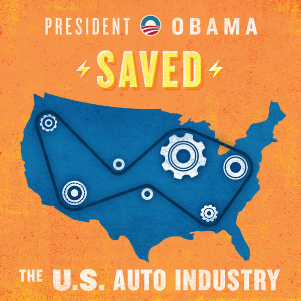 "RT so your friends know: @BarackObama saved the U.S. auto industry, and Mitt Romney said ""let Detroit go bankrupt."" pic.twitter.com/qy4bS6h1"