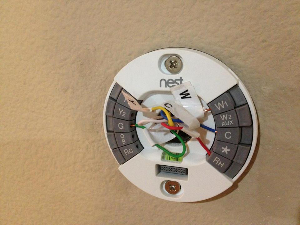 scott hanselman on twitter   u0026quot doing  nest thermostat wiring
