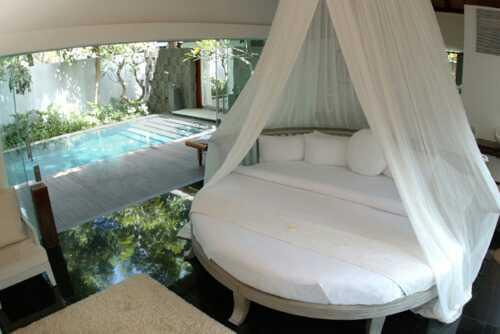 Slaapkamer Rond Bed : Round Canopy Bed