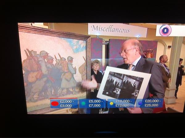 Play-a-long Antiques Roadshow on red button is highly addictive and more fun than X Factor! Even though I'm rubbish http://pic.twitter.com/X3J0GmhF