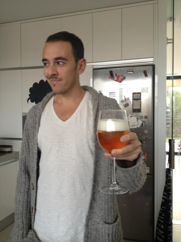 una cerveza casado