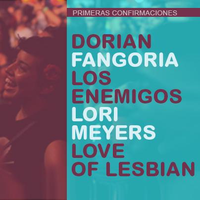 Love of Lesbian, Lori Meyers y Fangoria, entre las primeras confirmaciones del Low Cost 2013