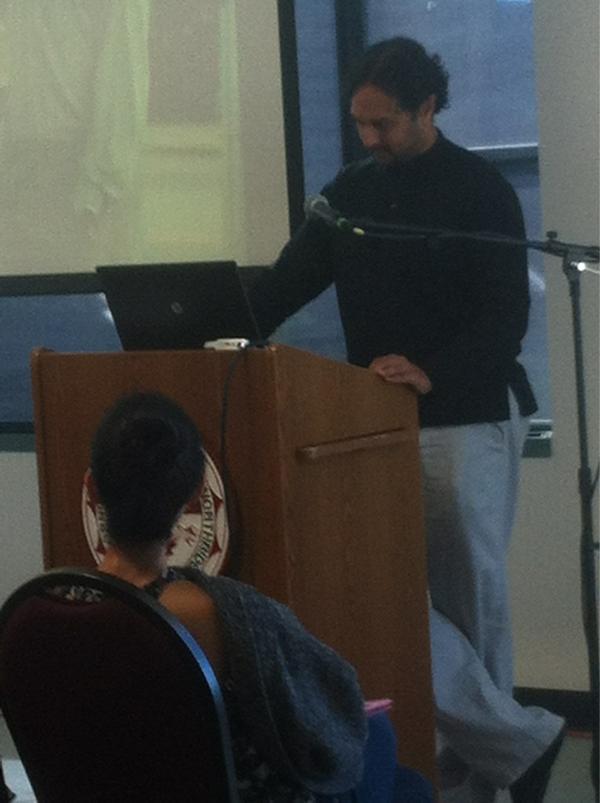 Islamophobia  presenter Amer Ahmed #MAMtalks http://pic.twitter.com/UcNbibY