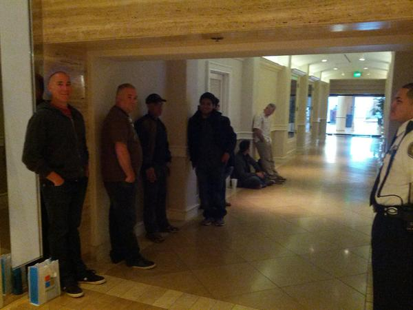 I'm 10th in line at the South Coast Plaza Microsoft Store. Opening at 10am. http://pic.twitter.com/i2UaRs2Y