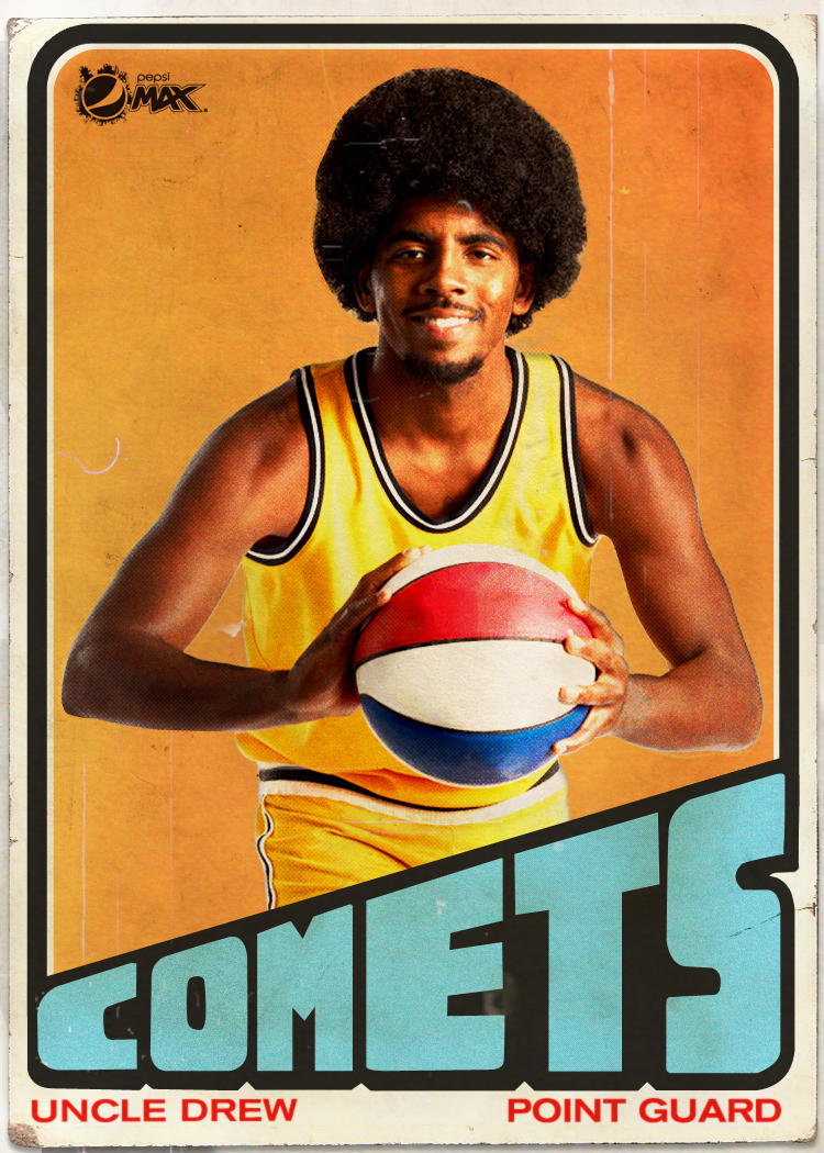 Kyrie Irving On Twitter PepsiMAX Check Out This UncleDrew Throwback Card Back When He Was Getting