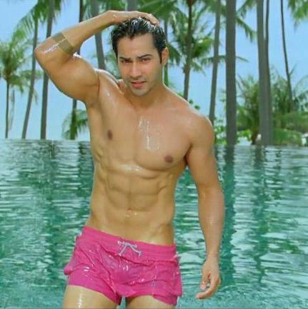 Image result for varun dhawan swimsuit