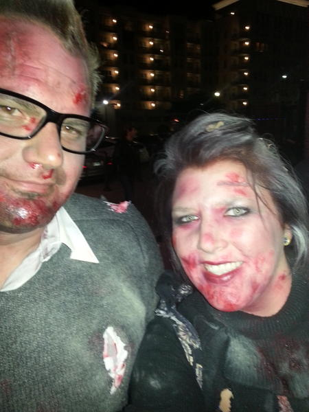 """Just heard """"who found Jesus at a gwar concert?"""" On to  @advclub  show! #zombiecouples pic.twitter.com/tv3lBqwP"""