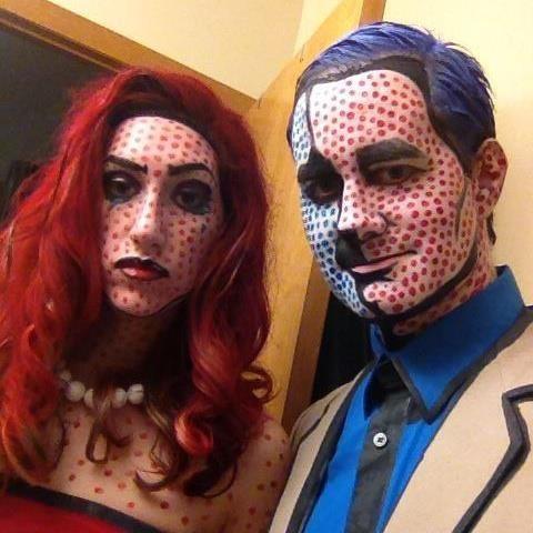 Roy Lichtenstein Halloween Costume.Roy Lichtenstein Halloween Costume Roy Lichtenstein
