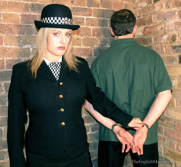 Femdom police woman