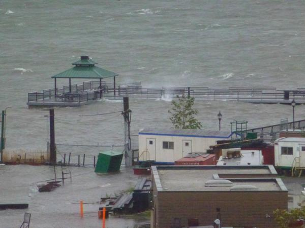 Hoboken Sandy Flooding Scary Sandy Hoboken Terminal