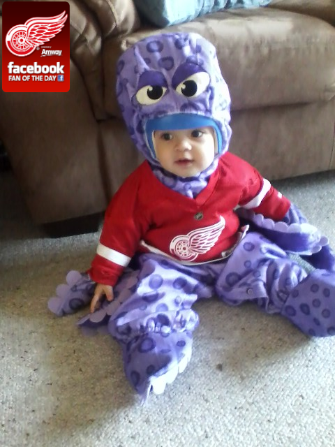 Detroit red wings on twitter issac dressed as al the octopus is detroit red wings on twitter issac dressed as al the octopus is mondays red wings amwayus fan of the day httptpbroknan voltagebd Images