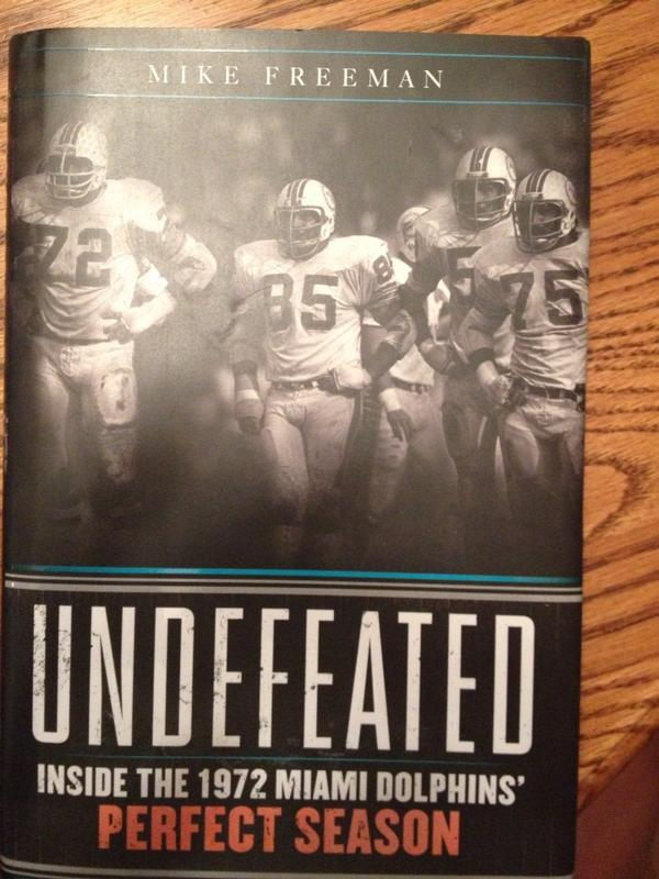 Reading @realfreemancbs book on the 1972 Dolphins. #Research http://pic.twitter.com/AQ4Cx76B