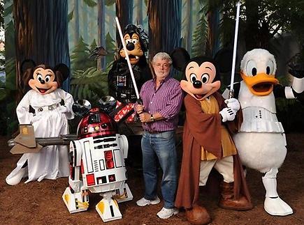 Thumbnail for Social media does Star Wars via Disney