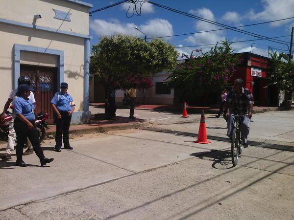 Un día con la Policía en el día sin moto en Aguachica