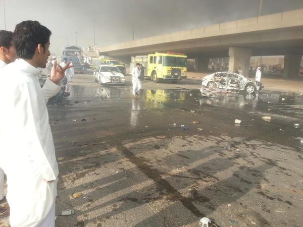 صور انفجار الرياض 1433 صور