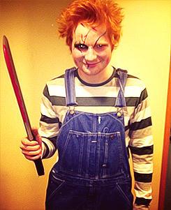 Ed Sheeran as Chuckie
