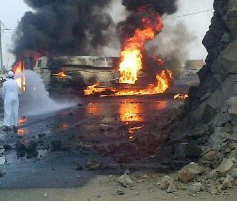 انفجار ناقلة بنزين كوبري الحرس A6lxEiGCcAAipLs.jpg