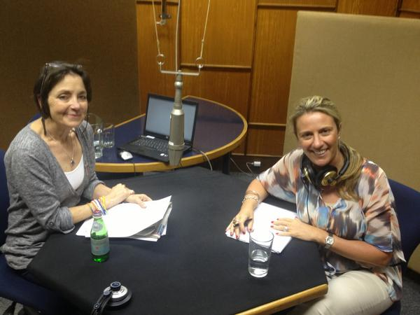CEO Donna Benton with Nancy Richards at the @SAfmRadio interview yesterday. http://pic.twitter.com/VMHA7u4w