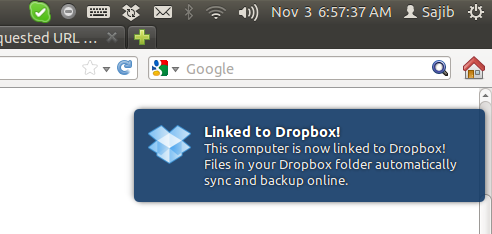 dropbox on ubuntu