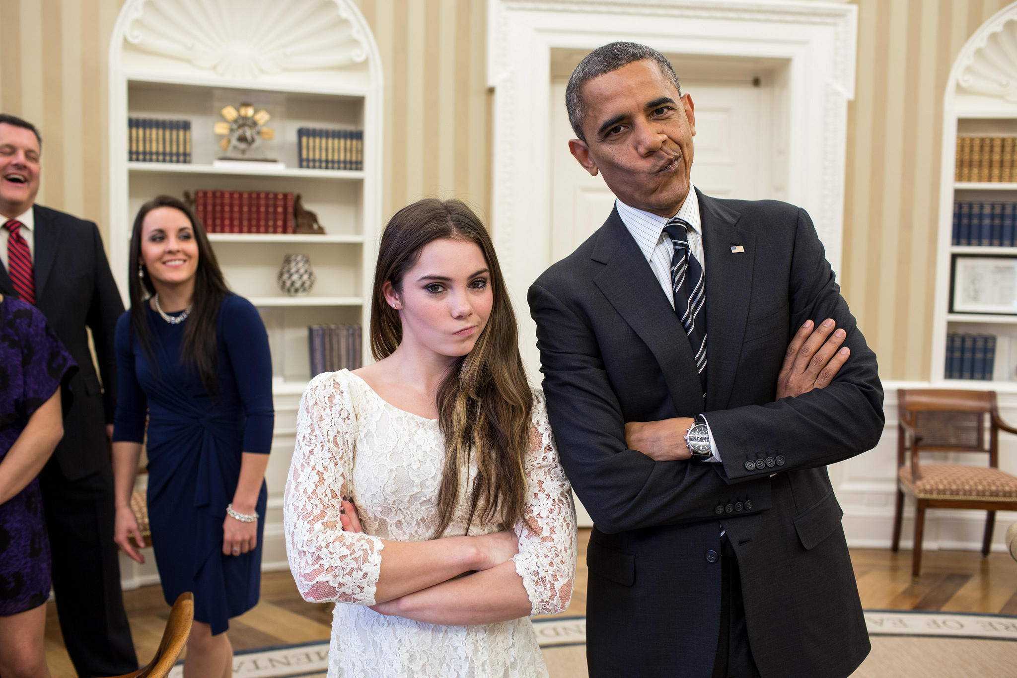Obama and Maroney are not impressed