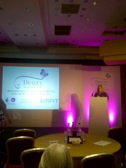 Marie Baker introduces Dr Dravet #dravetuk http://pic.twitter.com/2eEDLjSW
