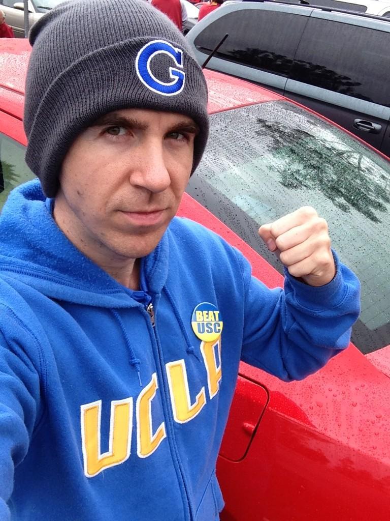 UCLA vs USC 2012 38-28 score on Paul Gale Network