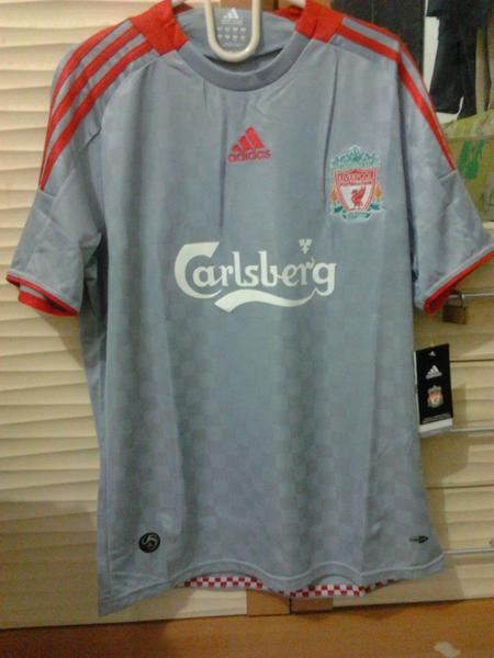 [BNWT] Liverpool Away 2008/2009 KW AAA [made in Germany] | IDR.200.000 | Jersey Langk