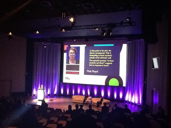 Corinne Reynders: Is there anybody out there? #failcon12 pic.twitter.com/YtrpPThm