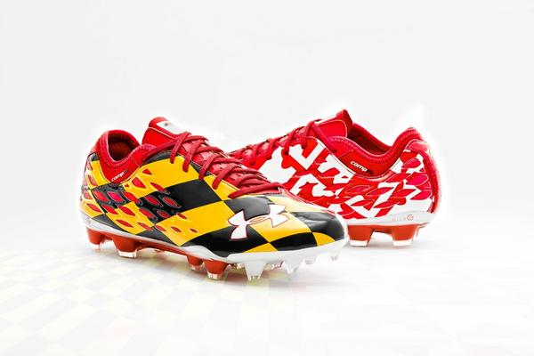 Maryland's soccer cleats are built to