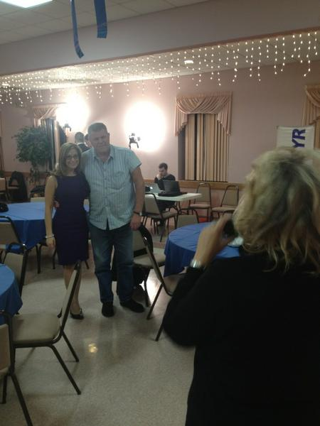 "Nice viewers wanting a photo! Brian from Syracuse says ""the mood is good."" #CNYvotes http://pic.twitter.com/KHfIjS2l"