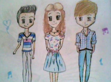 Violetta El Salvador on Twitter Dibujo de Toms  Violetta y