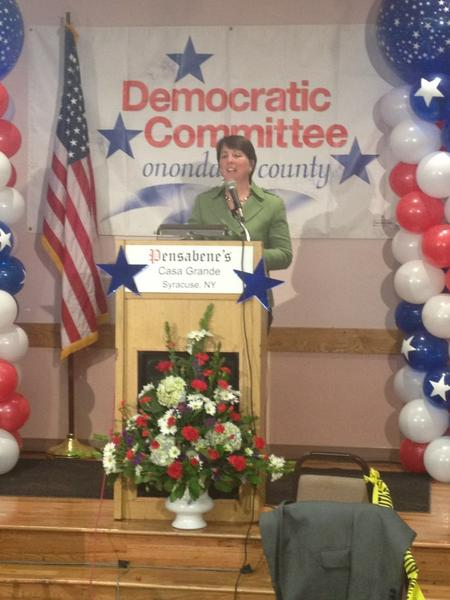 Julie Cecile is next family court judge in Onondaga County. Thanks supporter. #315elex http://pic.twitter.com/Rr1D1rkg