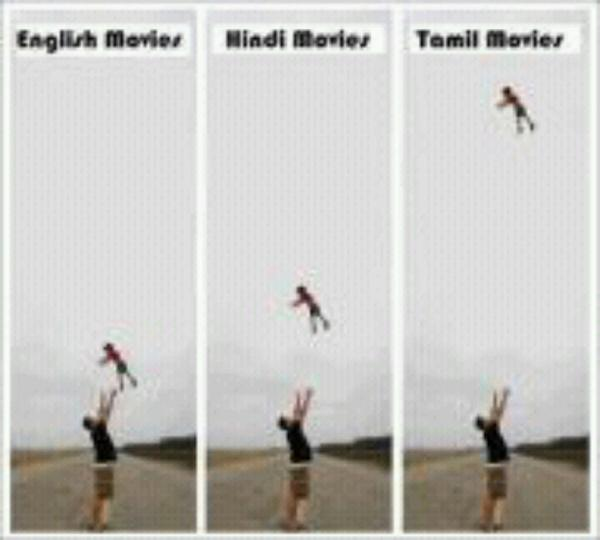 bollywood compared to hollywood