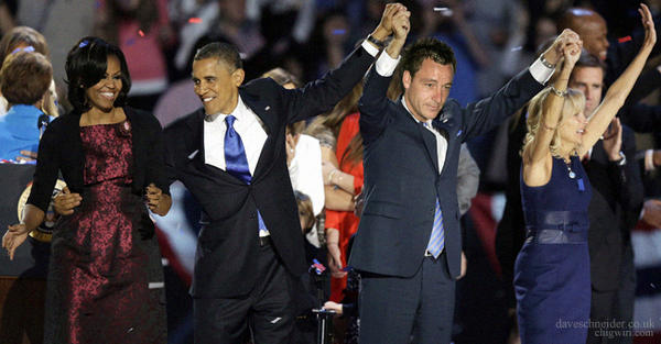 A7GghU2CEAACswn The obligatory John Terry celebrating with Barack and Michelle Obama pictures start doing the rounds