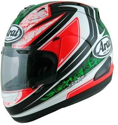 Nicky Hayden Arai Helmet 2012