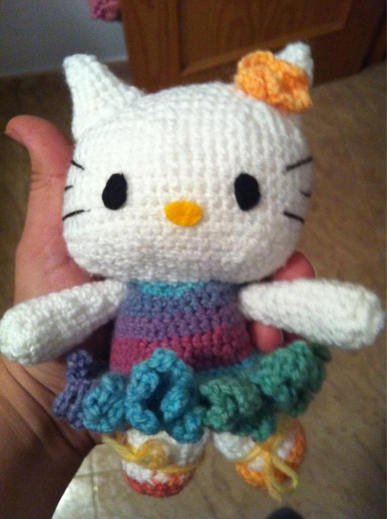 Amigurumi Hello Kitty Bailarina no Elo7 | Grochet por Fernanda ... | 1024x765