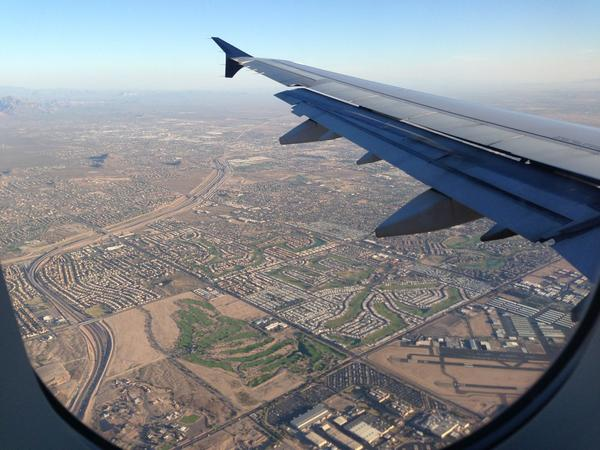 Hello Phoenix! http://pic.twitter.com/covbWXpK