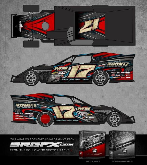 race car graphic design templates - srgfx on twitter new vector set preview racing