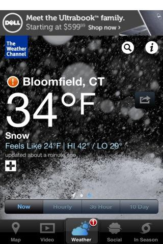 weather in bloomfield ct