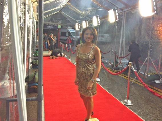 On the red carpet before the stars arrive for@NBCTheVoice! @wcnc http://pic.twitter.com/Qam3Itrr